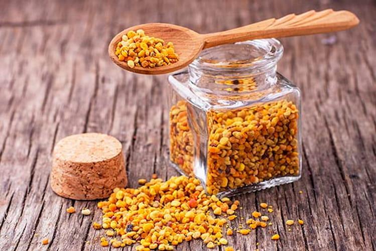 como tomar polen de abeja